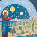 Orthodox Icon of the Creation of Plants