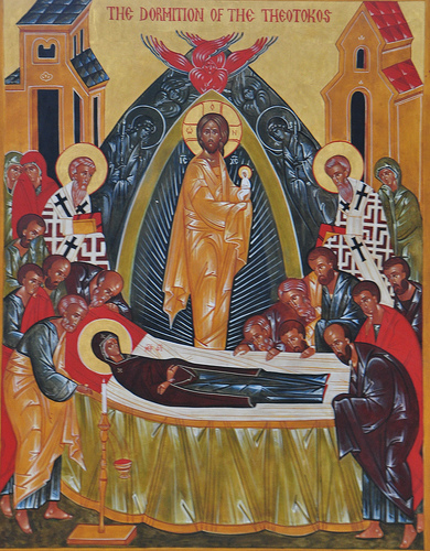 Icon of the Dormition of Mary