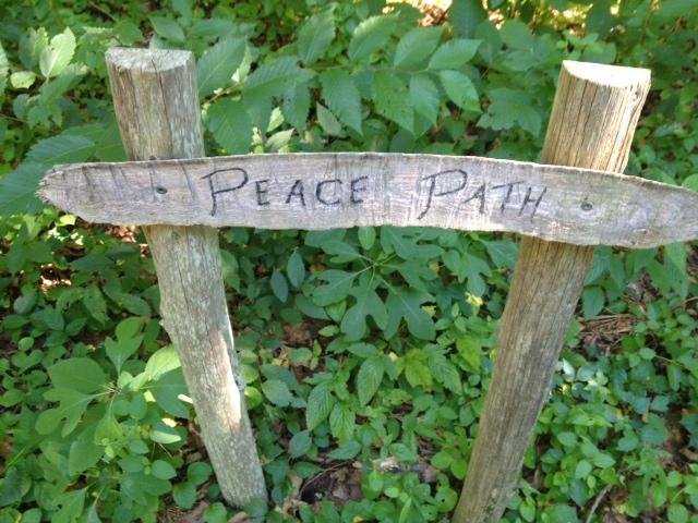 peace path near my cabin