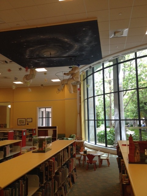Part of the children's section
