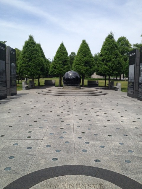 WWII Memorial at Bicentennial Mall